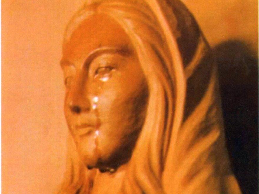 秋田聖体奉仕会のマリア像